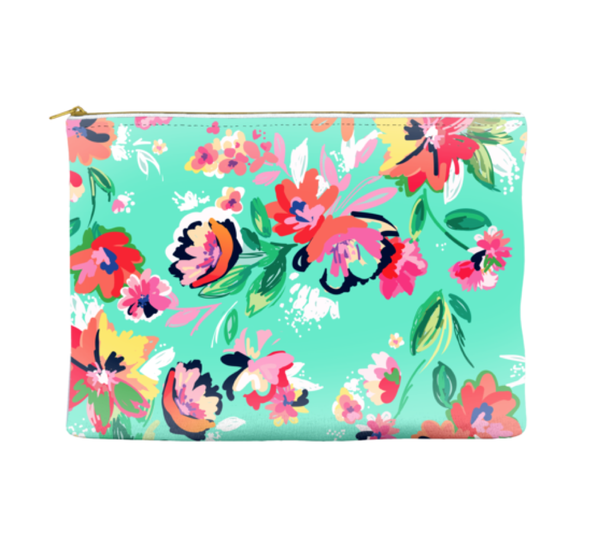 Florals - Pouch (more colors)