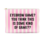 Eyebrow Game - Striped Pouch (more colors)