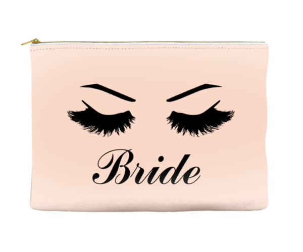 Bride - Accessory Pouch - Travel Bag - More Colors!