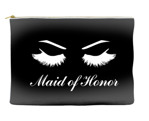 Maid of Honor - Accessory Pouch - Travel Bag - More Colors!