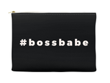 #bossbabe Makeup Bag, Makeup Pouch, Custom Bag (More Colors)