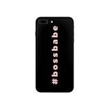 #bossbabe Phone Case, Custom Phone Case, Phone Accessories (More Colors)