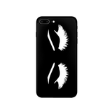Lashes Phone Case, Custom Phone Case, Phone Accessories (More Colors)