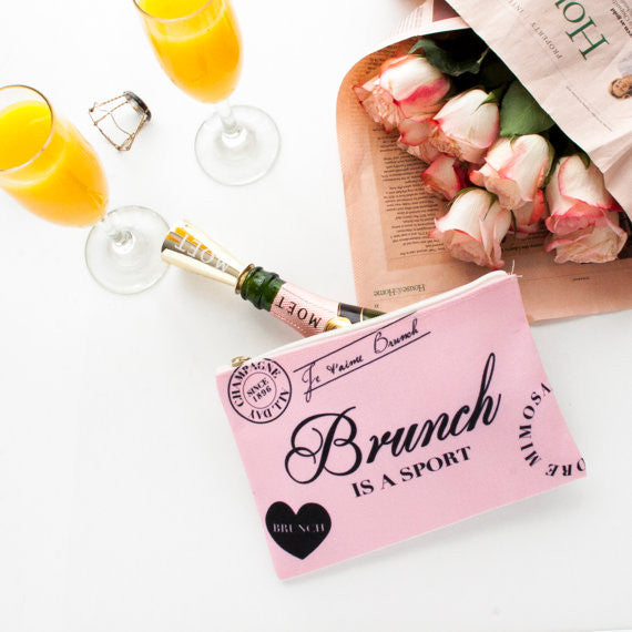 Brunch is a sport - Pouch (more colors)