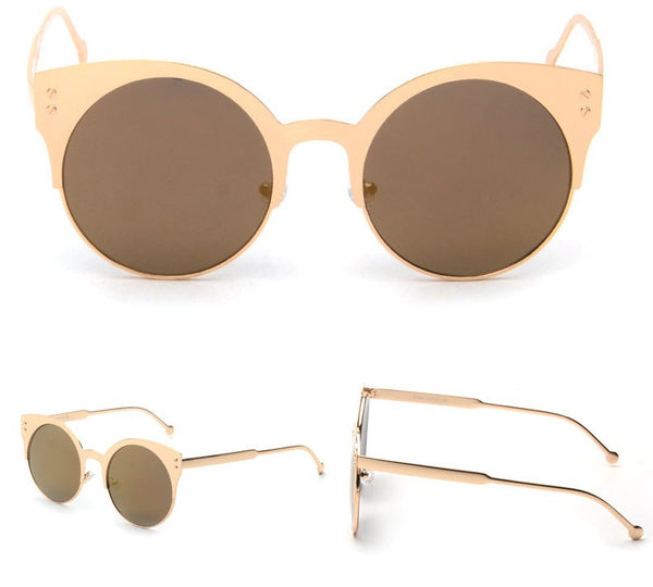 'Lily' Rose Gold Sunglasses (More Colors)