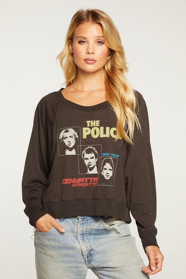 The Police 1980 Tour Pullover