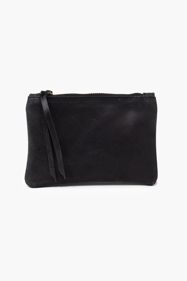 Martha Coin Pouch: Black