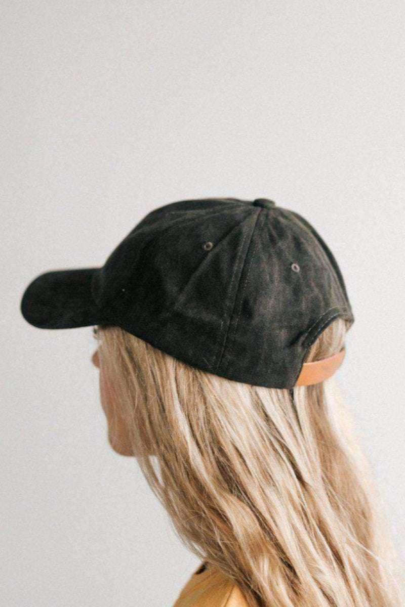 Amy Charcoal Baseball Cap