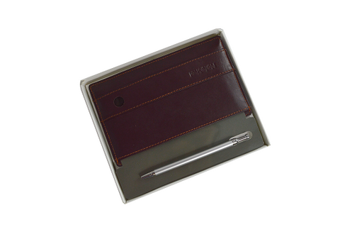 NoteShel Index Card Holder with pen