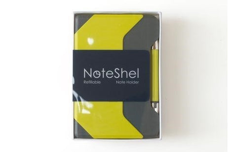NoteShel Portable Sticky Note Holder With Pen