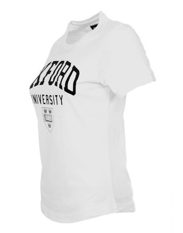 Image of a personalizable women's white t-shirt