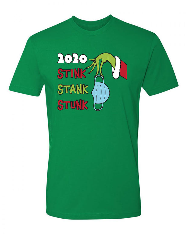 "Adult ""2020 Stink Stank Stunk"" Jersey Cotton Short Sleeve Tee"
