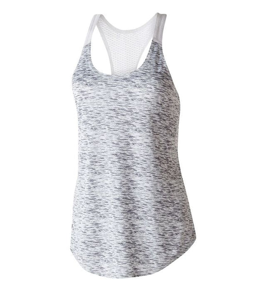 Ladies Space Dye Racerback Tank