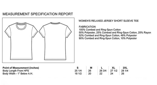 "Ladies ""Circle of Trust"" Relaxed Jersey Cotton Short Sleeve Tee"