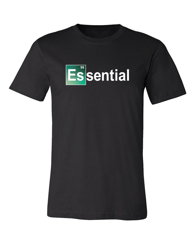 "Adult ""Essential - Element"" Jersey Cotton Short Sleeve Tee"