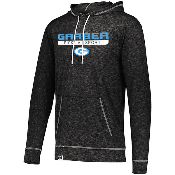 "Adult ""Garber Dukes"" Lightweight Athletic Pullover Hoodie - Choose Your Sport"