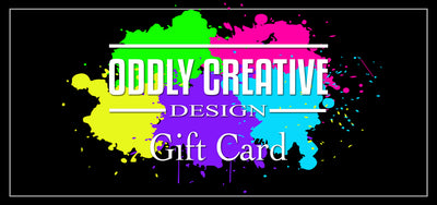 Oddly Creative Design Gift Card
