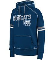 "Girls/Ladies ""John Glenn Bobcats"" 50/50 Cotton/Poly Pullover Hoodie"