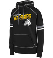 "Girls/Ladies ""Western Warriors"" 50/50 Cotton/Poly Pullover Hoodie"