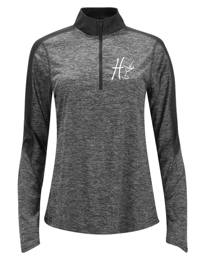 "Ladies ""Harvey's Grill & Bar"" Half-Zip Pullover"