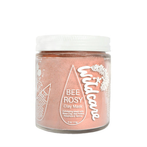 Bee Rosy Exfoliating Clay Mask