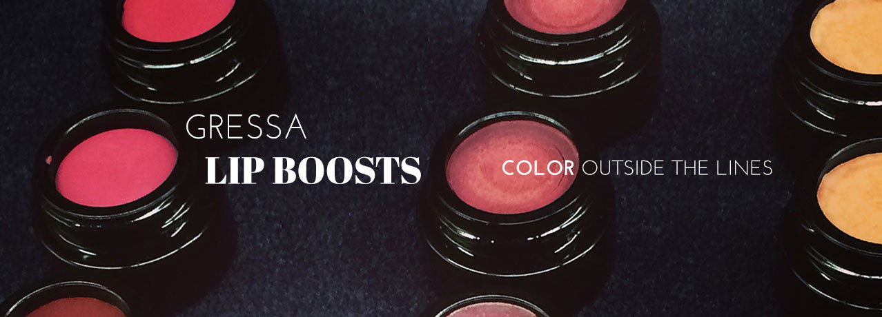 Gressa Lip Boosts - color outside the lines