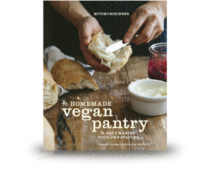 A signed copy of The Homemade Vegan Pantry Cookbook.
