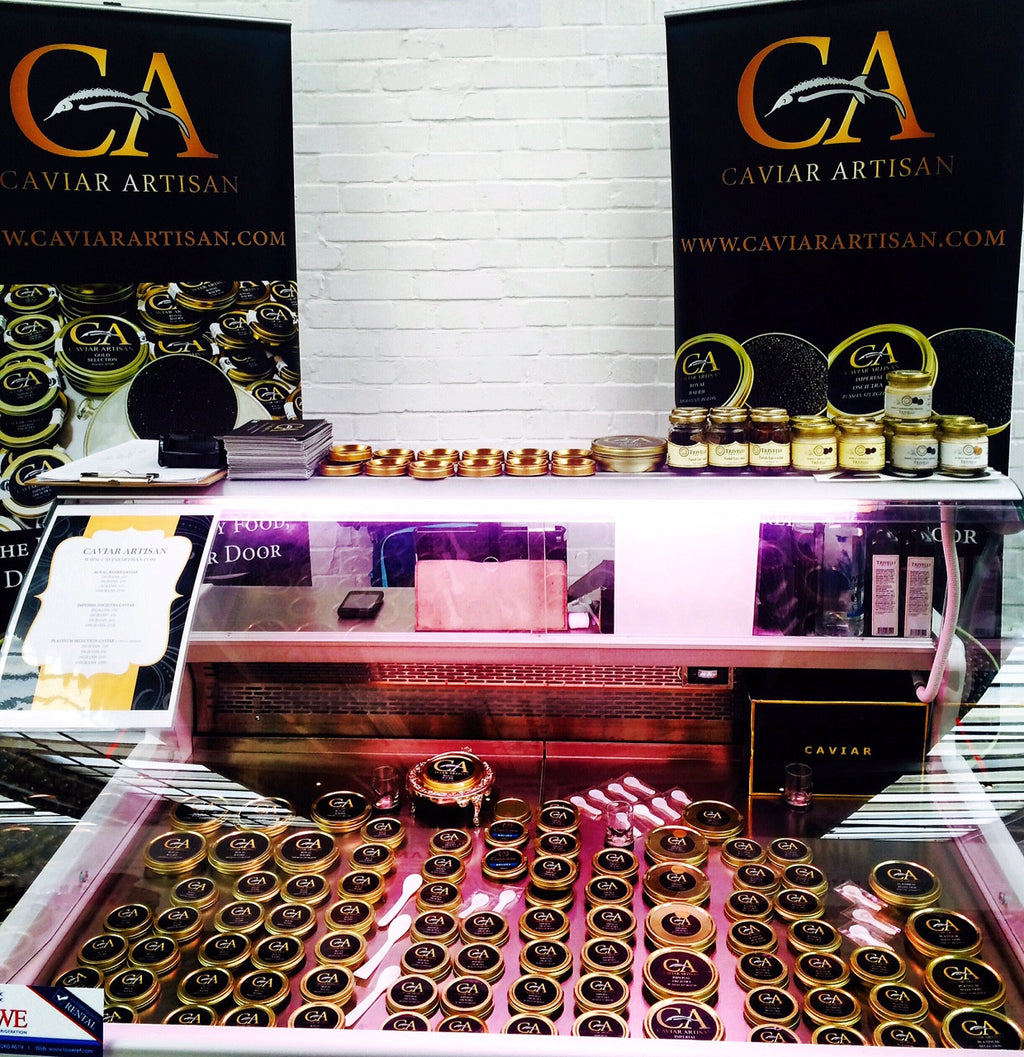 Caviar Artisan At The London Epicurean Event 28-29th October 2016