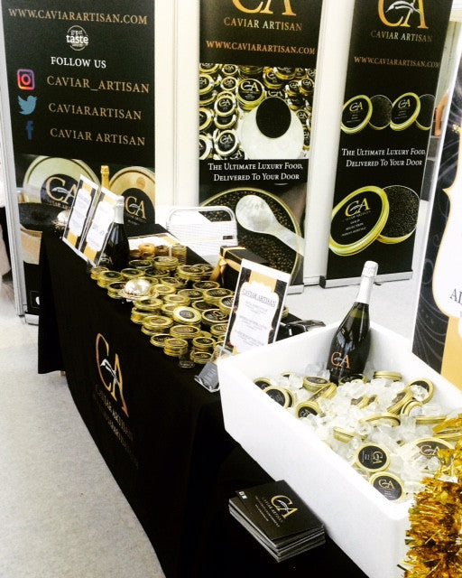 Caviar Artisan At The Christmas Ideal Home Show, London Olympia 23rd-27th November