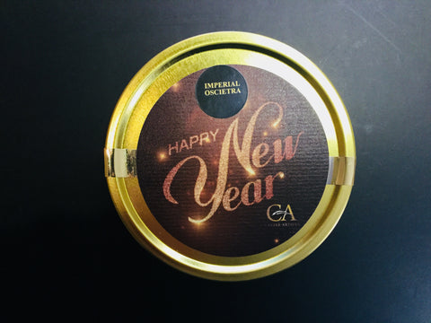 125g Imperial Oscietra Gold Caviar - Happy New Year Edition