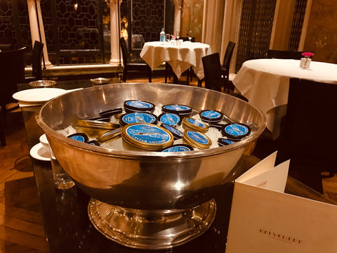 Caviar Tasting & Training Experience at The Belvedere, Holland Park