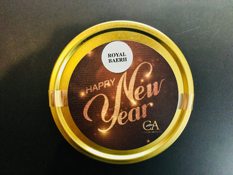 125g Royal Baerii Caviar - Happy New Year Edition