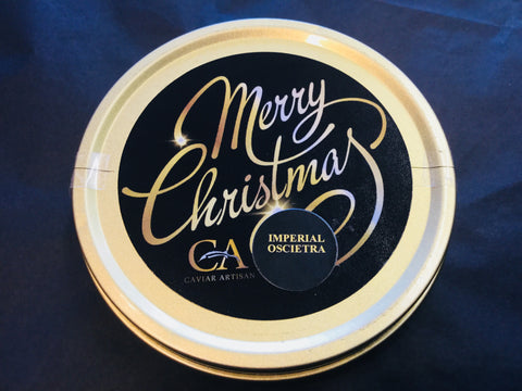 125g Imperial Oscietra Gold Caviar - Christmas Edition