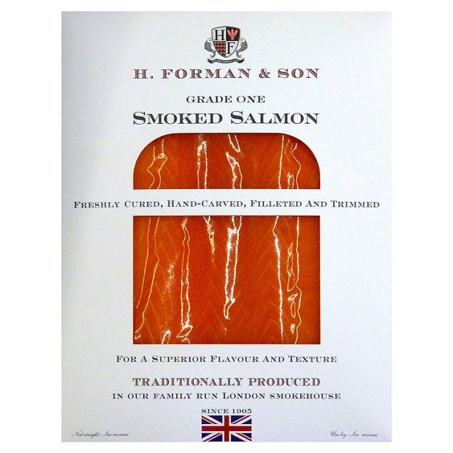 H. Forman & Son Smoked Salmon 100g - Grade One