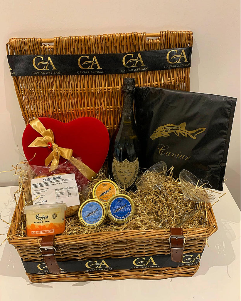 Caviar Trio Love Hamper