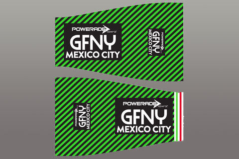 2016 GFNY Mexico City Arm Warmers