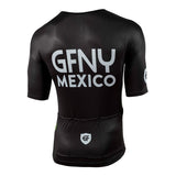2019 GFNY MEXICO ZIPPER LESS BLACK JERSEY