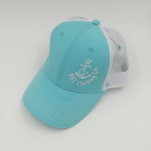 Hat - Logo in Surf