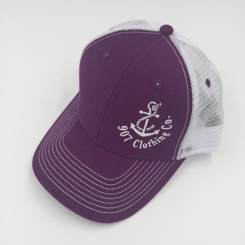 Hat - Logo in Blueberry