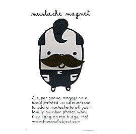 Miniature Mighty Mustache Magnet