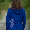 Hoodie - Boat Anchor Zip in Royal Blue