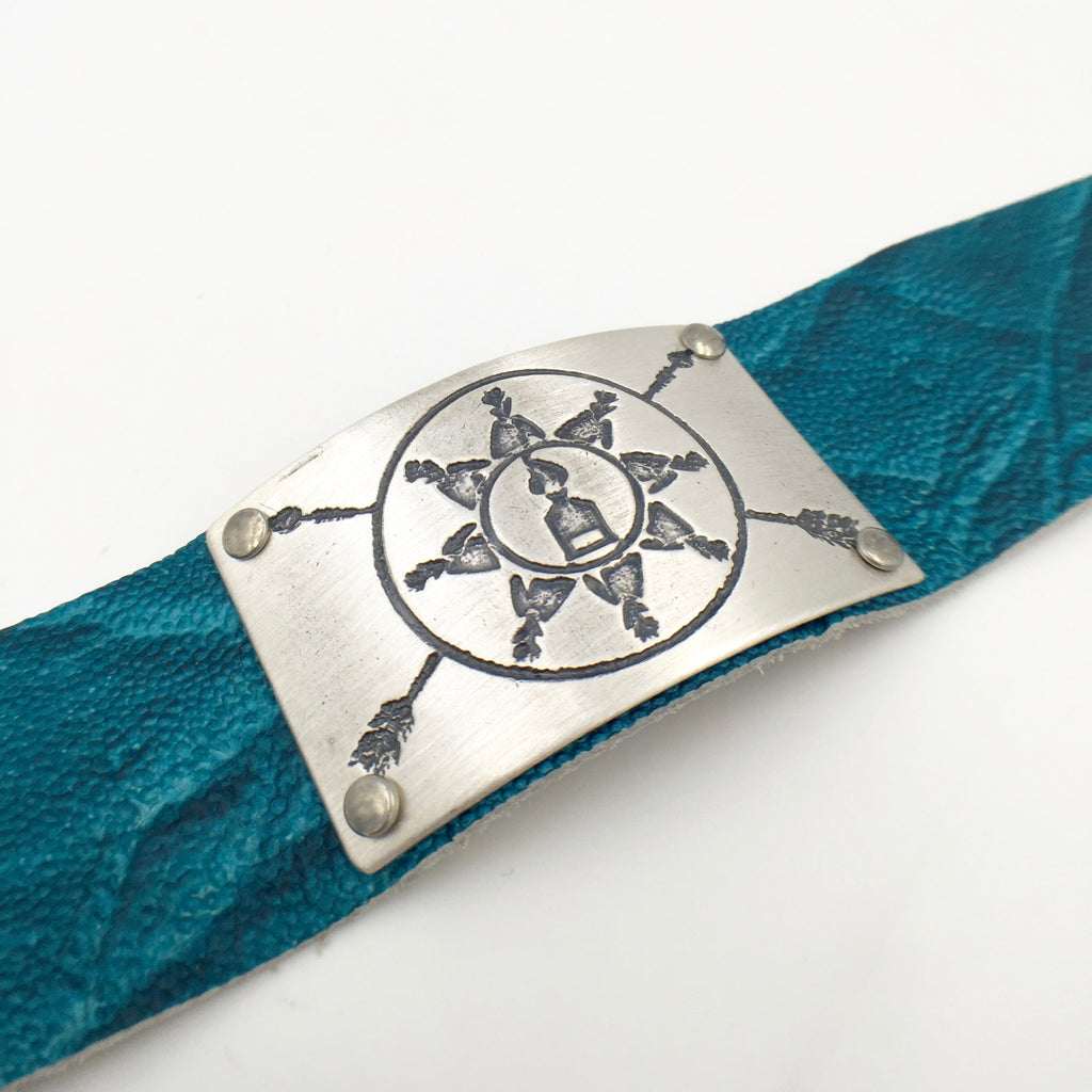 Bracelet - Turquoise/Silver - Standing Rock