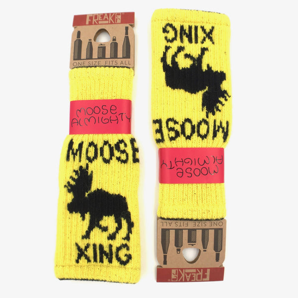 Bottle Cozy - Moose Almighty