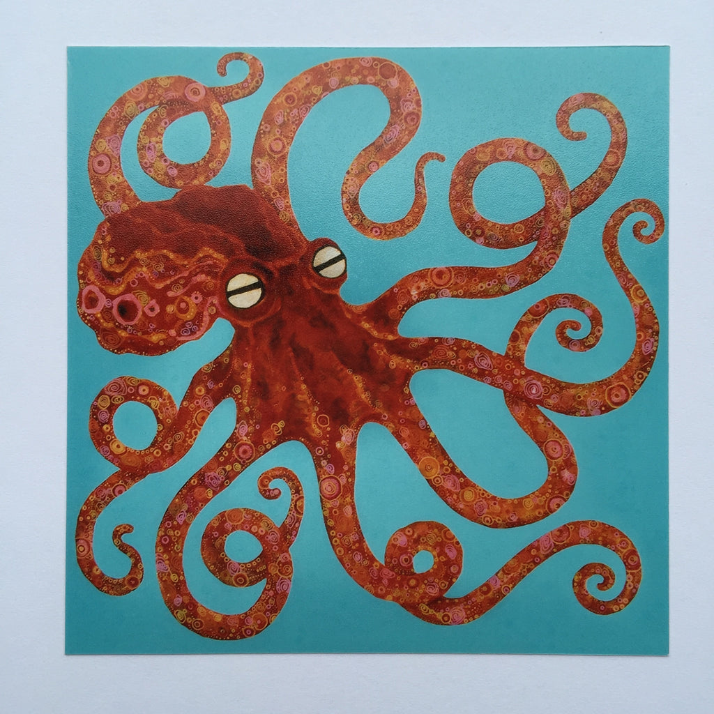 Card - Octopi