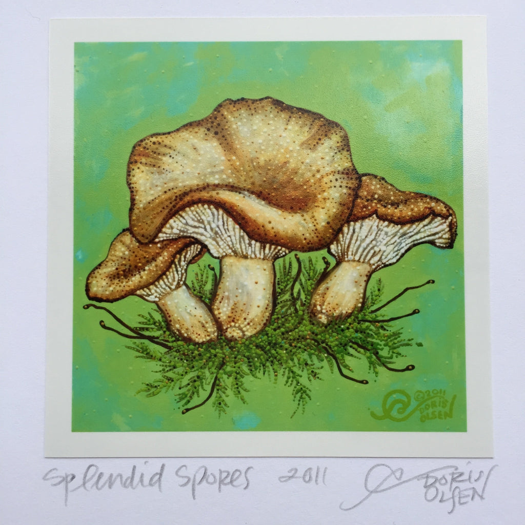 Card - Splendid Spores