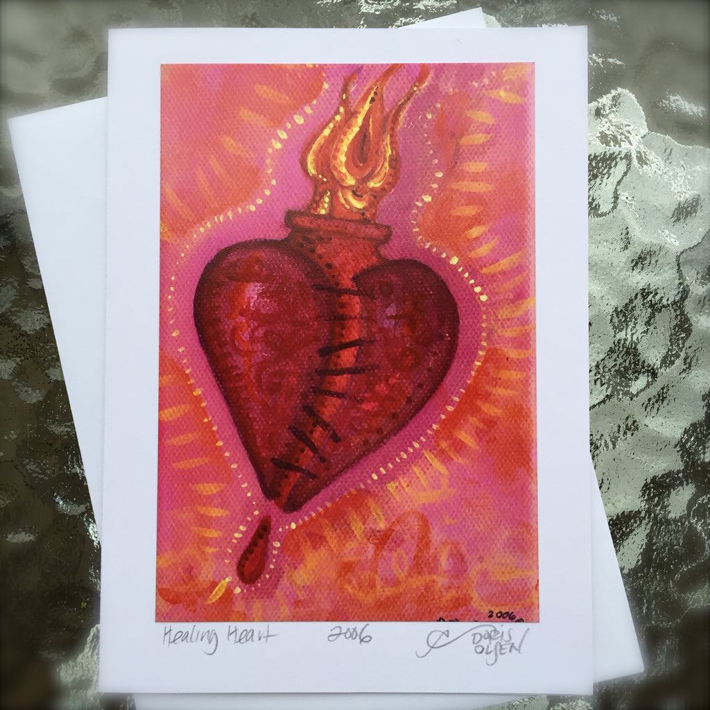 Card - Healing Heart IV