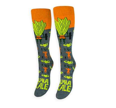 Sock - Alpha Kale