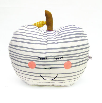 Little Cushion - Apple Polka Dot - Happy Face
