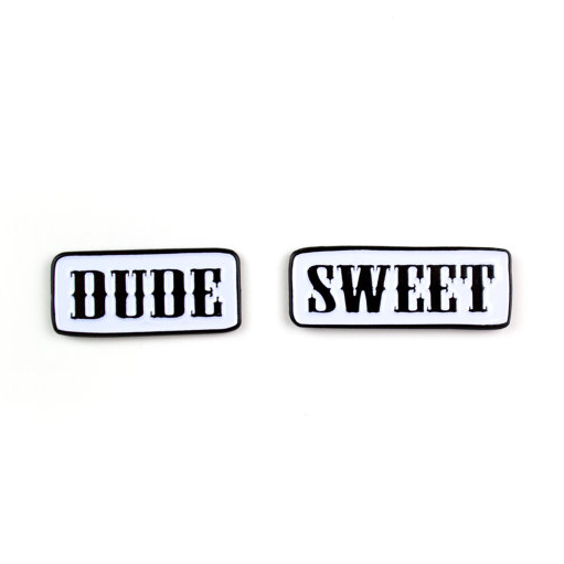 Enamel Pin - Dude & Sweet