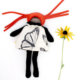 Mini Flip Doll - Butterfly - Minli